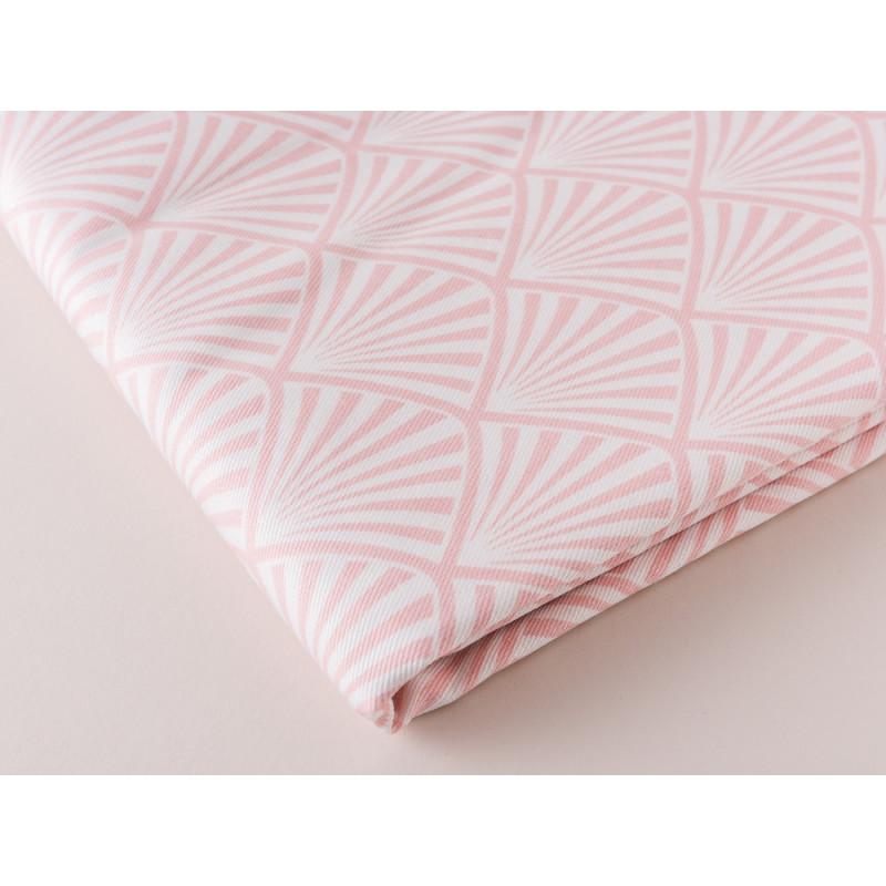 Gate Noir Tischdecke Jacquard Celine rosa pink Greengate Tischtuch Material und Muster im Detail