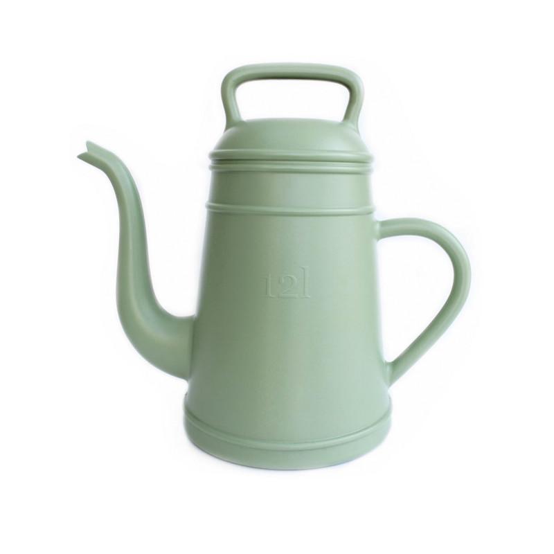 Giesskanne Lungo grün fuer 12 Liter aus Kunststoff von Xala Kaffeekanne nostalgisch