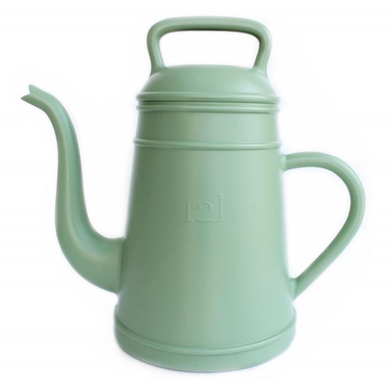 Giesskanne Lungo grün für 12 Liter aus Kunststoff von Xala