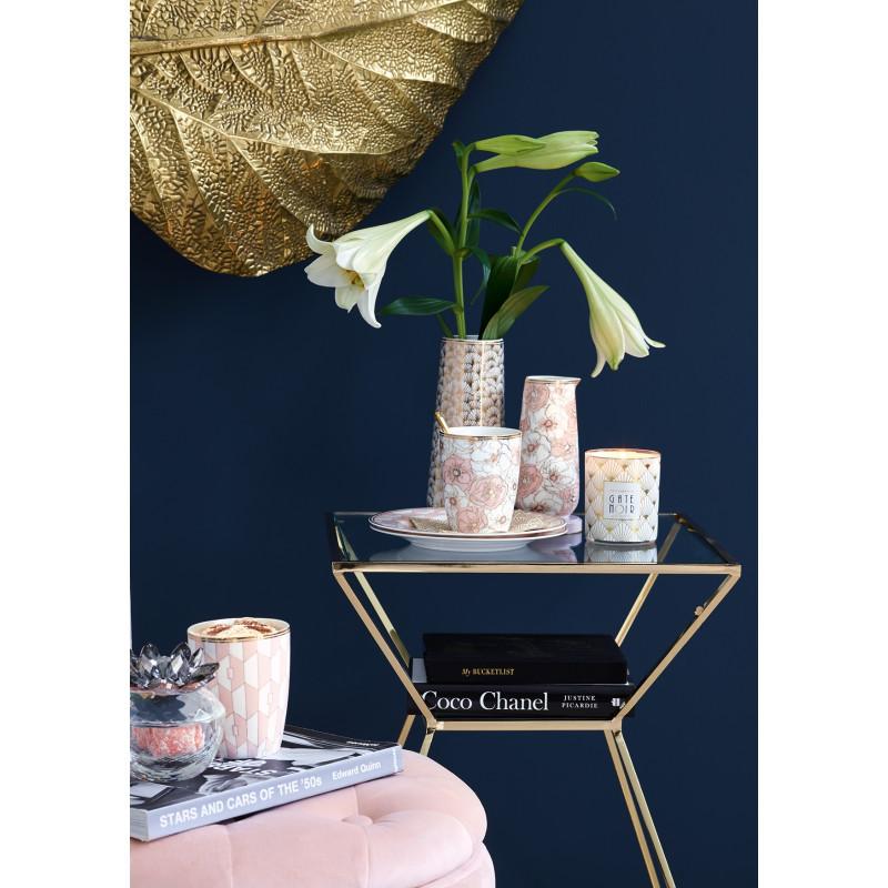 Greengate Geschirr Gate Noir Krug Jacqueline gold als Vase Kanne Flori Pale Pink Latte Cup Becher Aurelie aus Porzellan