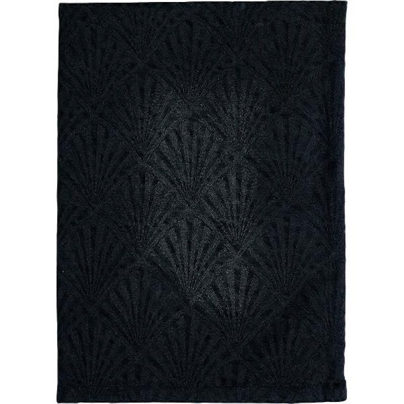 Greengate Geschirrtuch Celine schwarz 50x70 cm Gate Noir Geschirrhandtuch aus Baumwolle