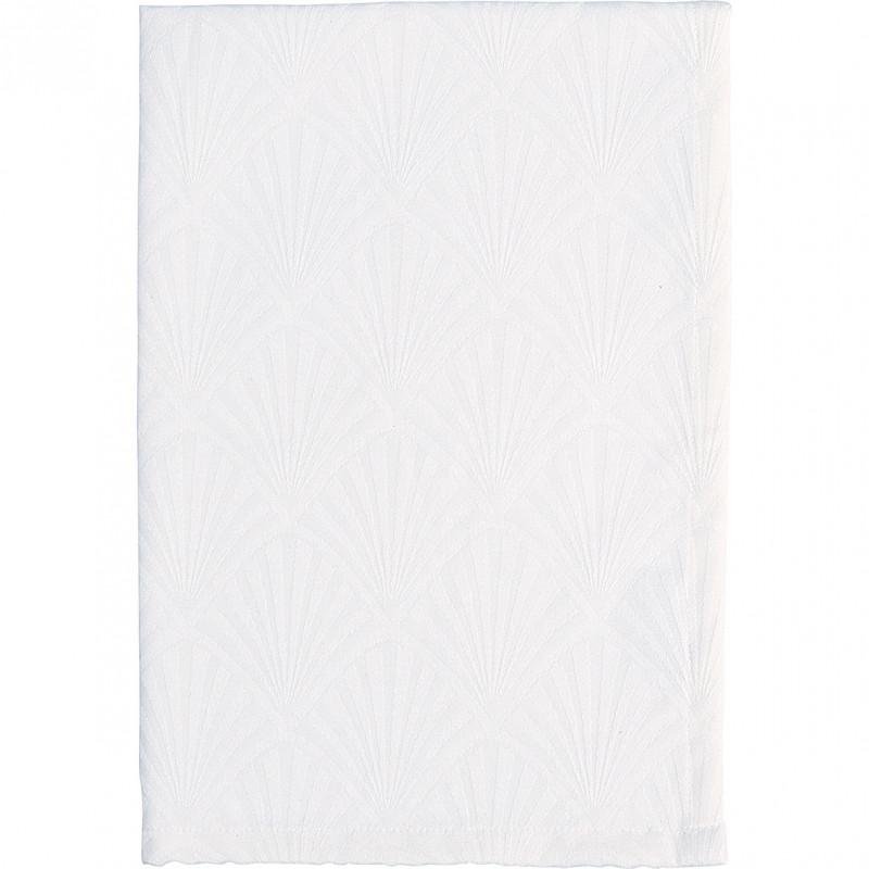 Greengate Geschirrtuch Celine Weiß Geschirrhandtuch aus Baumwolle 50x70 cm Greengate Produkt Nummer COTTEAJGNCEL0112
