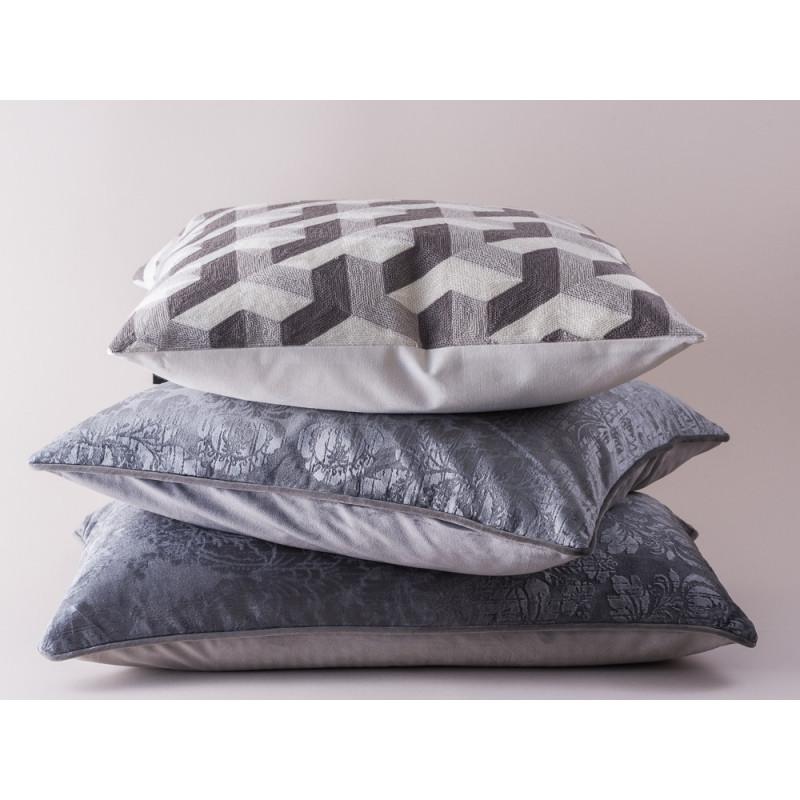 kissen samt grau 50x50 gate noir jetzt hier bestellen. Black Bedroom Furniture Sets. Home Design Ideas
