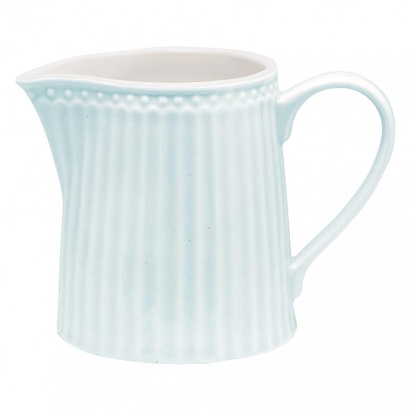 Greengate Milchkännchen ALICE Hellblau Everyday Geschirr Pale Blue Creamer Blau Greengate Produkt Nr STWCREAALI2906