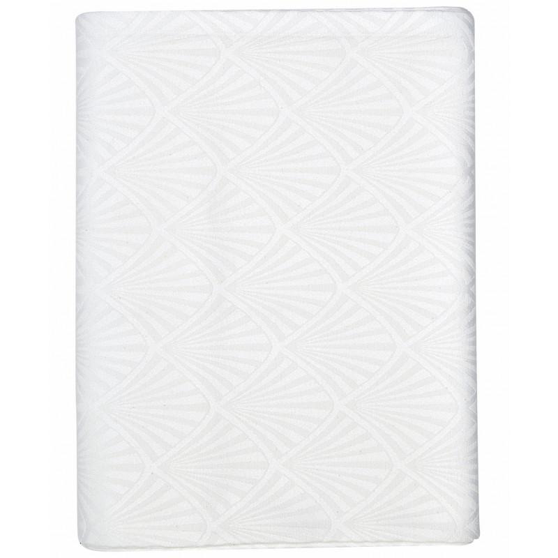 Greengate Tischdecke Celine Weiß aus Baumwolle 150x350 cm Greengate Produkt Nummer COTTABJ350CEL0