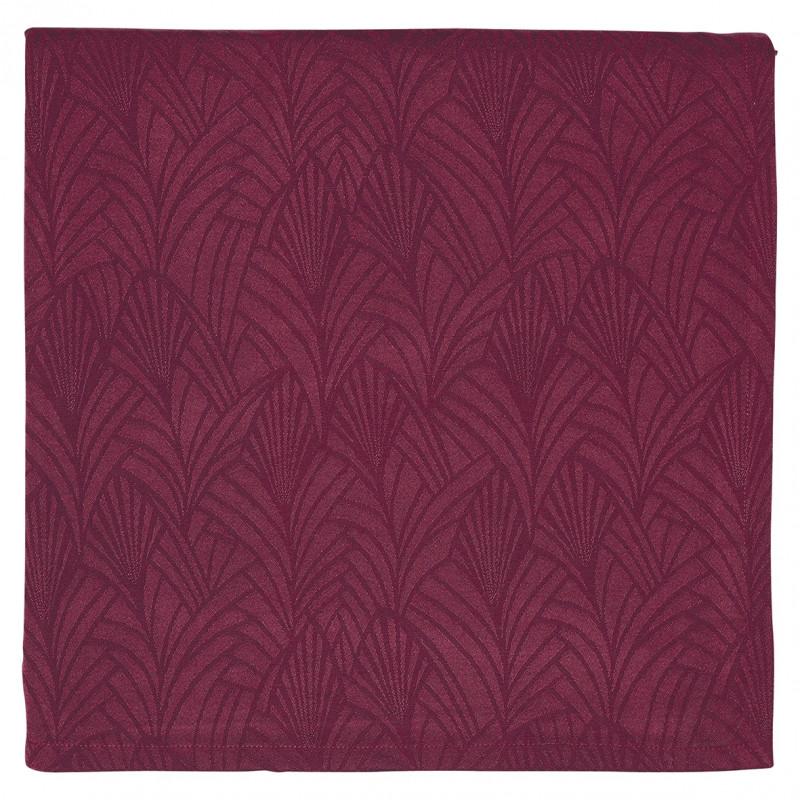 Greengate Tischdecke Gigi bordeaux rot aus Baumwolle Gate Noir Tischtuch 150x250 cm