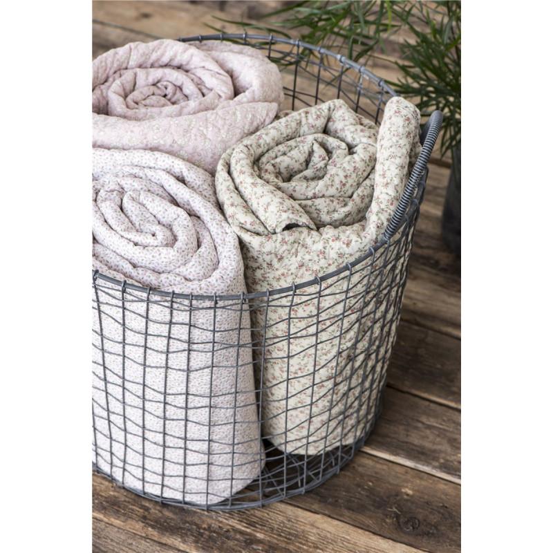 ib laursen quilt rosa mit blumen wohnhaus welten. Black Bedroom Furniture Sets. Home Design Ideas