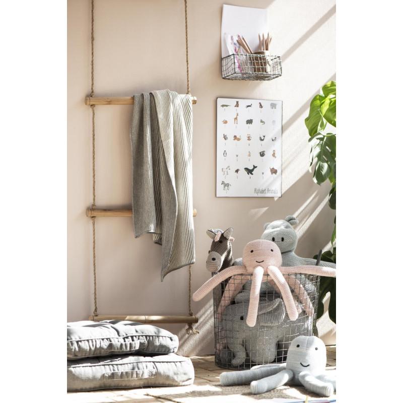 IB Laursen Deko Schild Tier Alphabet für Kinderzimmer