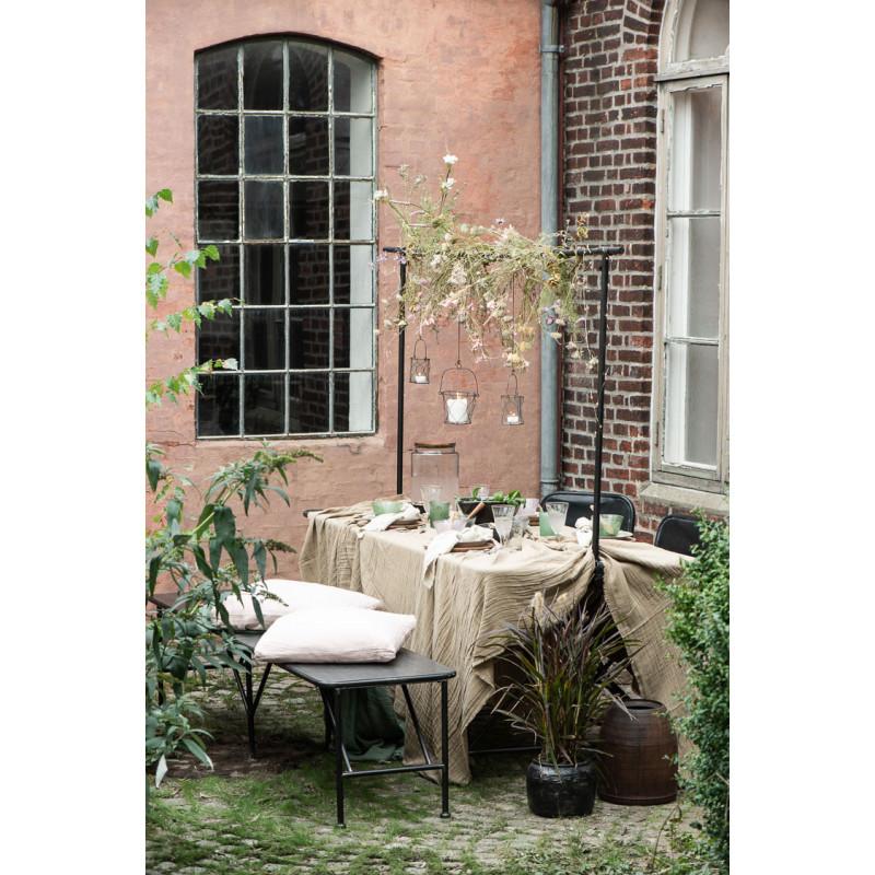 IB Laursen Displayhalter Schwarz Deko Stange für Tisch aus Metall zur Deko am Gartentisch