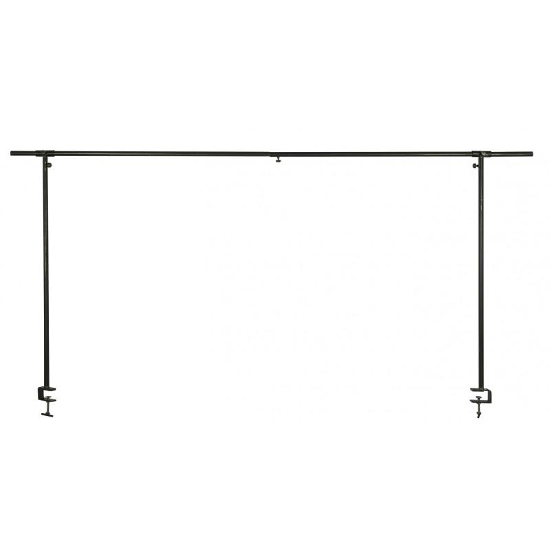 IB Laursen Displayhalter Schwarz Deko Stange für Tisch aus Metall