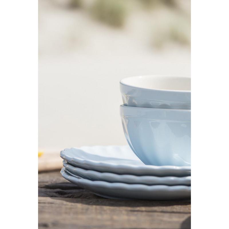 IB Laursen Geschirr Mynte Müslischale Kuchenteller Stillwater blau