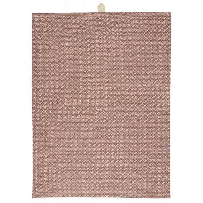 IB Laursen Geschirrtuch Desert Rose mit Muster Weiss IB Produkt Nr 6690-64