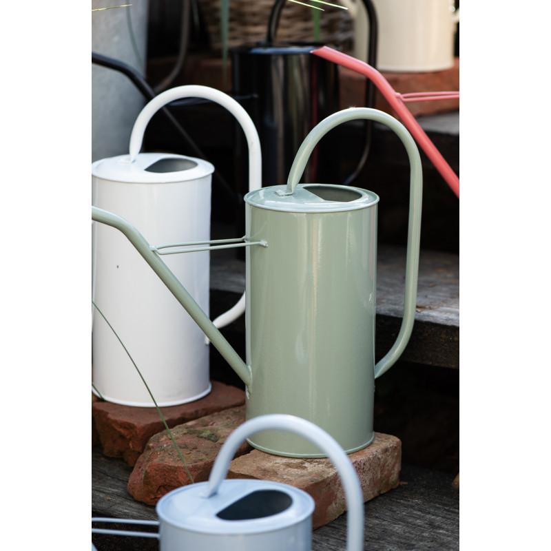 IB Laursen Gießkanne Grün 2,7 Liter mit Griff aus Metall Garten und Zimmer Deko schlichtes modernes Design