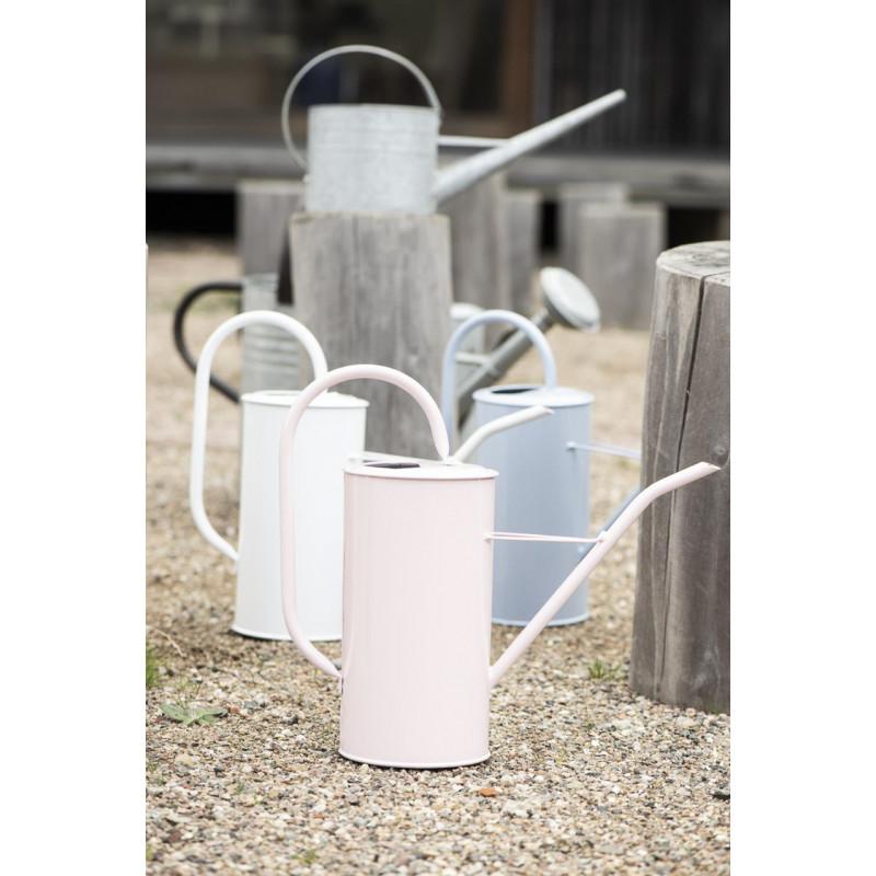 IB Laursen Gießkanne Rosa 2,7 Liter mit Griff aus Metall Garten und Zimmer Deko schlichtes modernes Design