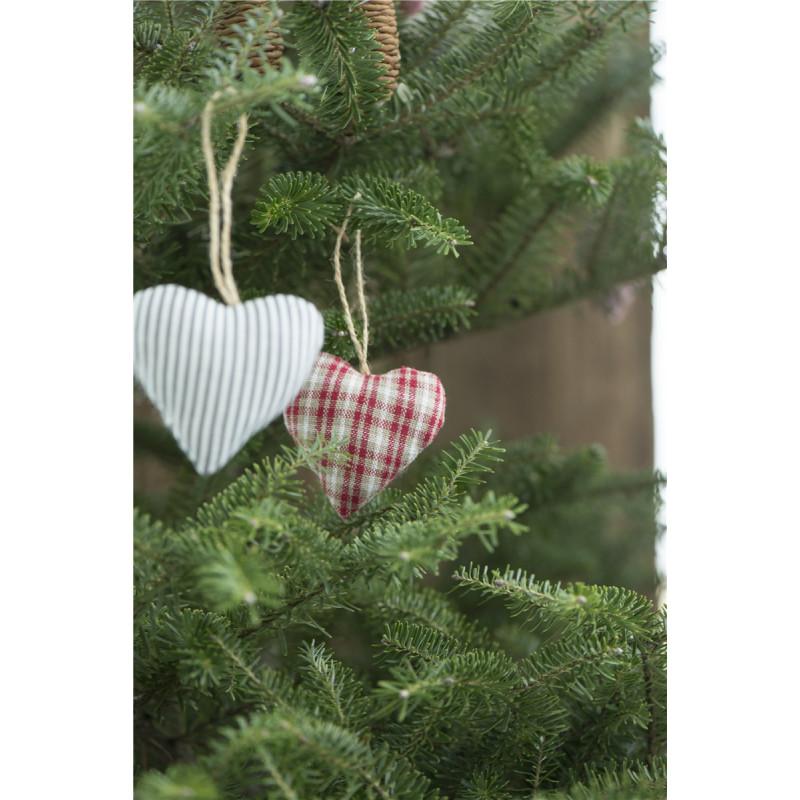IB Laursen Herz My Nostalgie Christmas rot Weihnachtsbaum Deko Anhänger