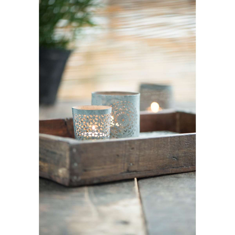ib laursen holz tablett kiste unika holzbox hergestellt aus altem holz und mit. Black Bedroom Furniture Sets. Home Design Ideas