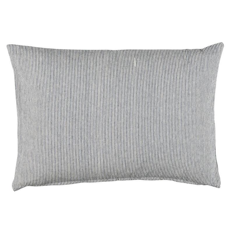 blau wei gestreifte kissenh lle 50x70 ib laursen. Black Bedroom Furniture Sets. Home Design Ideas