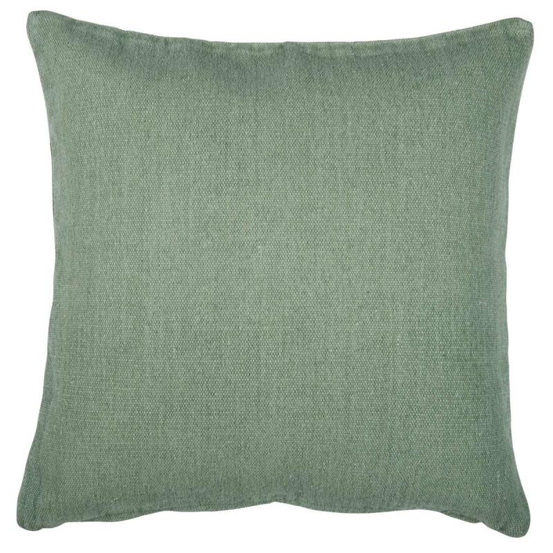 ib laursen kissenbezug hellgr n aus schwerer baumwolle gr e 50 x 50 cm kissenh lle gr n von. Black Bedroom Furniture Sets. Home Design Ideas