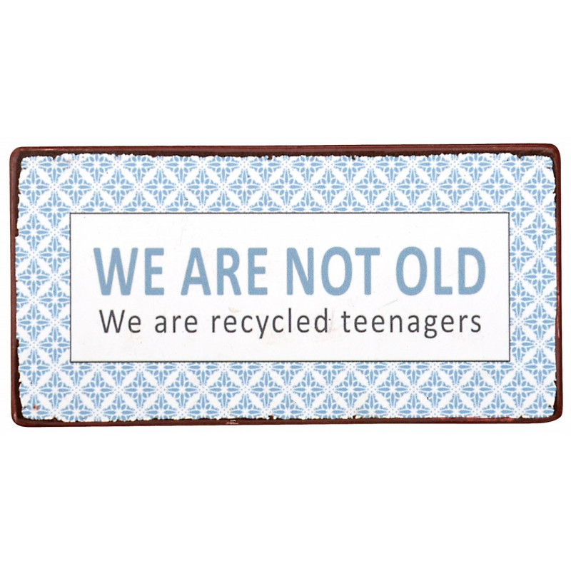 IB Laursen Magnet we are not old we are recycled teenager