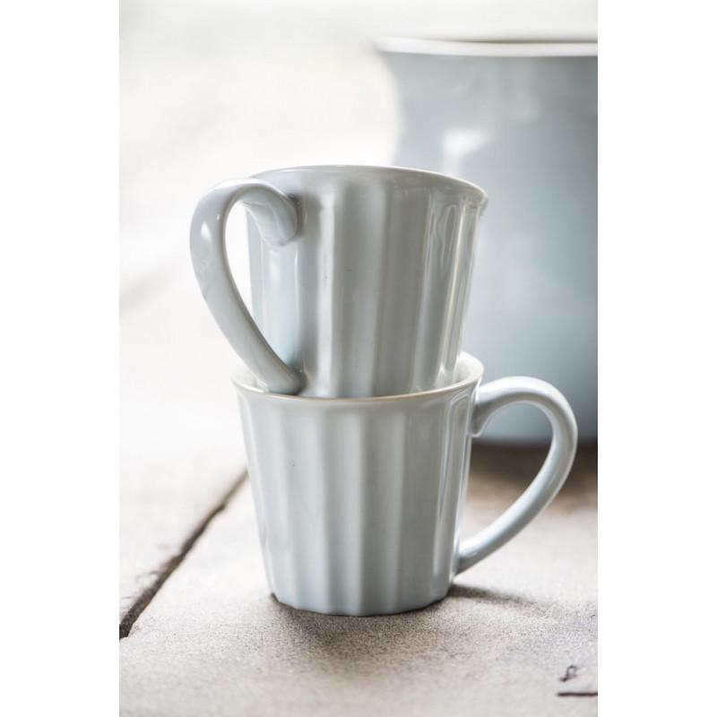 IB Laursen Mynte Becher hellblau aus Keramik
