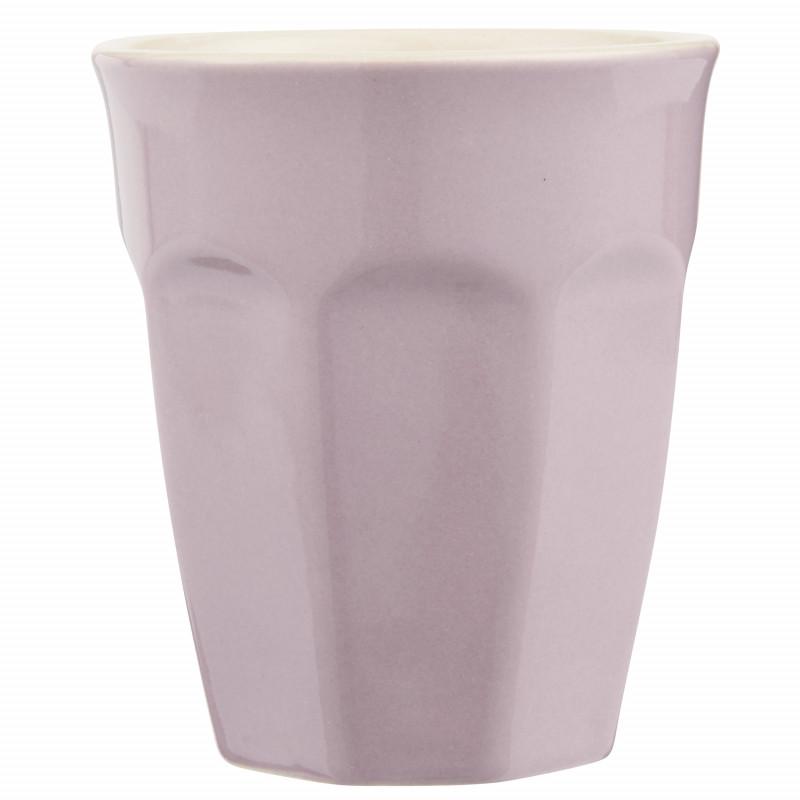 IB Laursen Mynte Cafe Latte Becher Lavender Lila Keramik Geschirr 250 ml