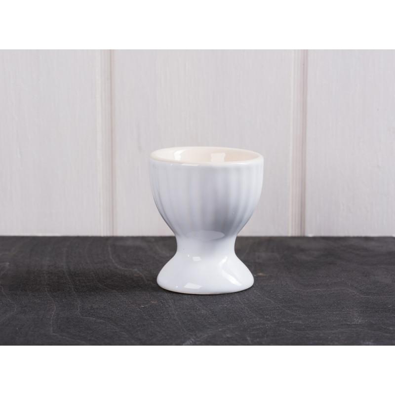 eierbecher mynte pure white wei er eierbecher aus keramik. Black Bedroom Furniture Sets. Home Design Ideas
