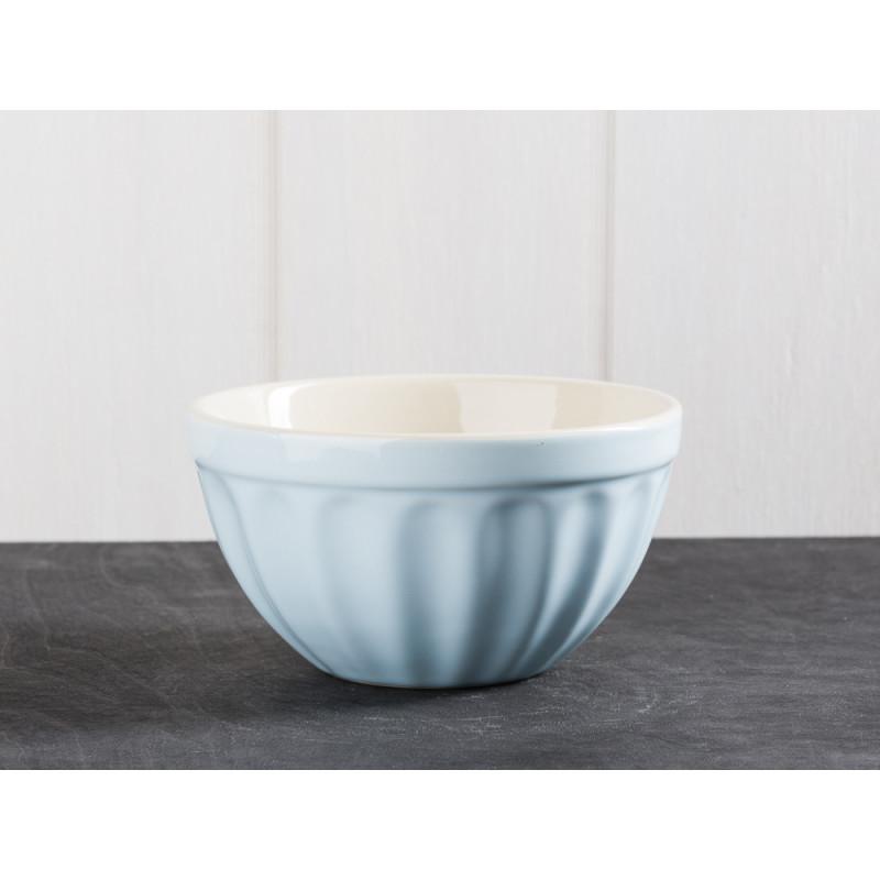IB Laursen Mynte Geschirr Stillwater Mueslischale hellblau Keramik Schale blau