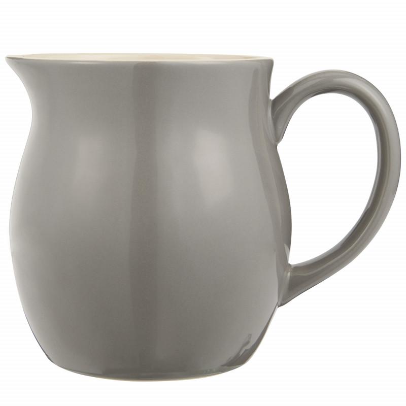 IB Laursen Mynte Kanne Granite Grau Keramik Geschirr großer Krug Dunkelgrau IB Laursen Artikel 2095-16 Karaffe 2,5 Liter