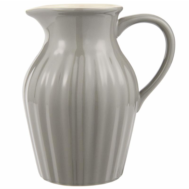 IB Laursen Mynte Kanne Granite Grau Keramik Geschirr Krug Dunkelgrau IB Laursen Artikel 2077-16 Karaffe 1,7 Liter