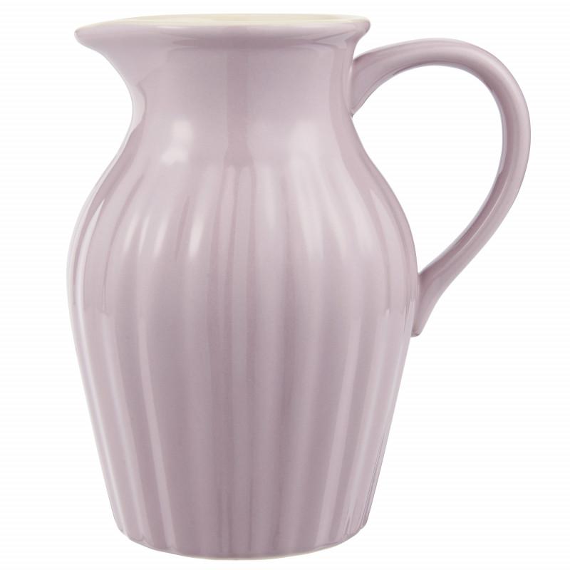 IB Laursen Mynte Kanne Lavender Lila Keramik Geschirr Krug Lavendel IB Laursen Artikel 2077-66 Karaffe 1,7 Liter