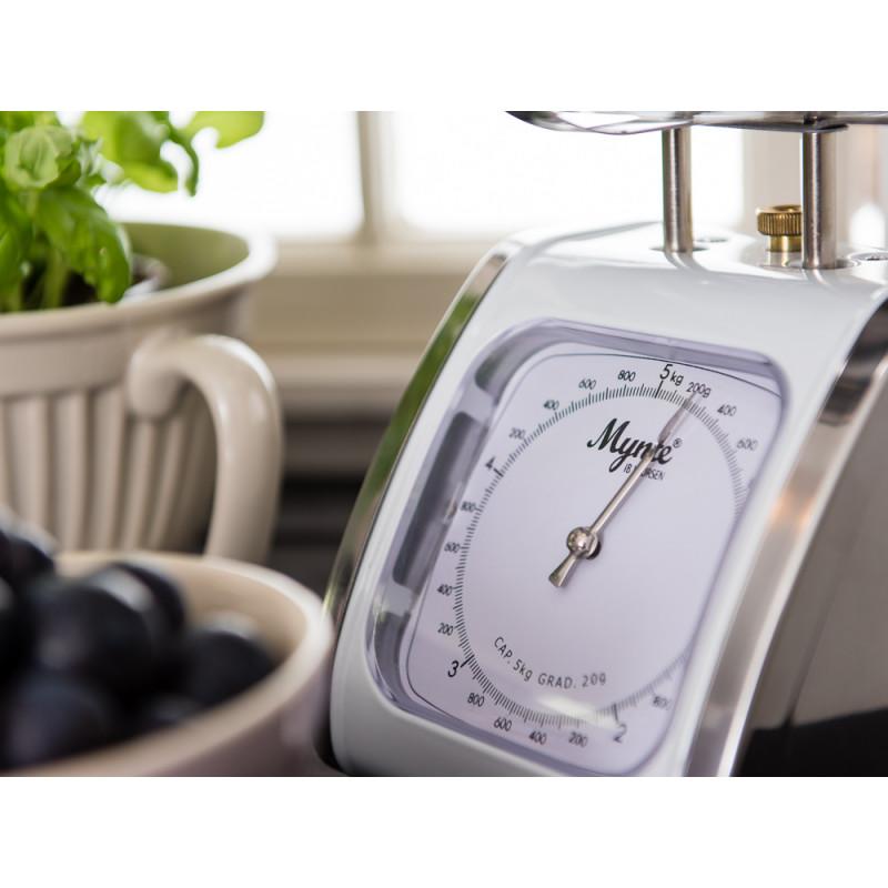 IB Laursen Mynte Küchenwaage weiß bis 5 Kg