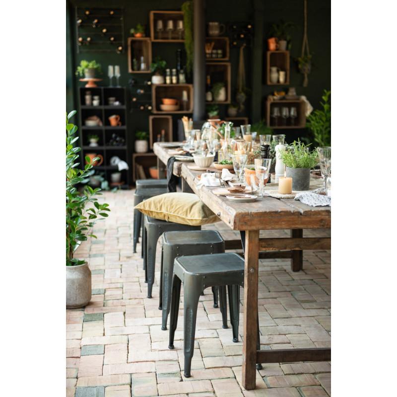IB Laursen Mynte Müslischale Orange Keramik Geschirr Pumpkin Spice Schüssel Küche Dekoration gedeckter Tisch