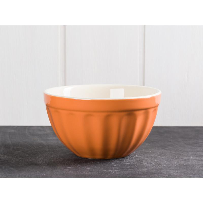 IB Laursen Mynte Mueslischale Orange Keramik Geschirr Serie Pumpkin Spice