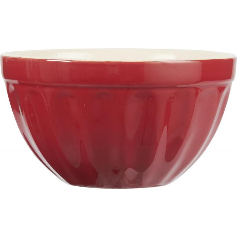 IB Laursen Mynte Müslischale rot Schüssel aus Keramik Strawberry