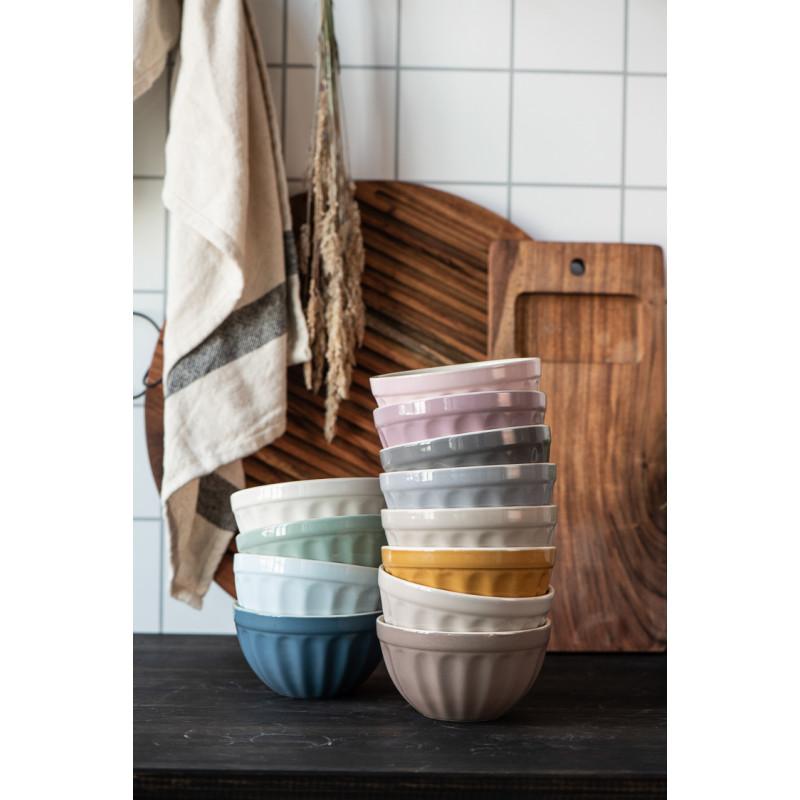 IB Laursen Mynte Schale Mustard Gelb Keramik Geschirr Müslischalen Stapel alle Farben
