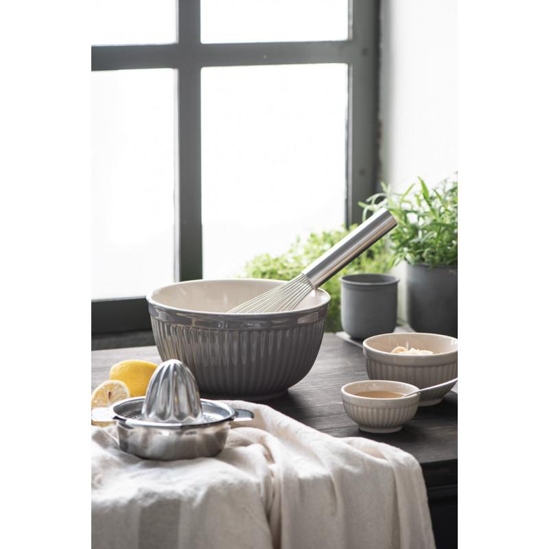 IB Laursen Mynte Schalensatz Granite Grau Keramik Geschirr zum Backen