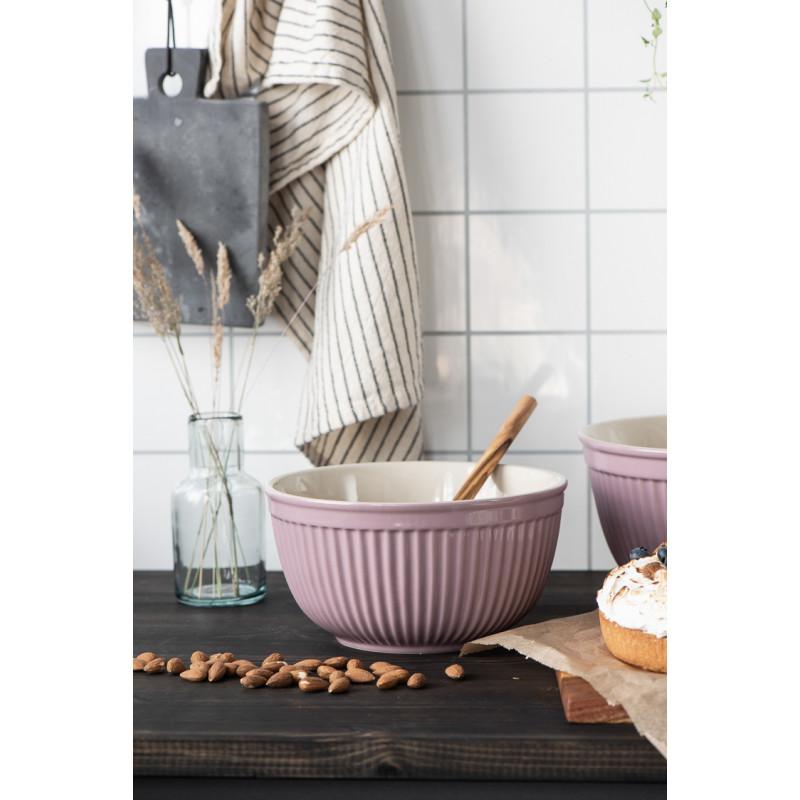 IB Laursen Mynte Schalensatz Lavender Lila Keramik Geschirr zum kochen und backen