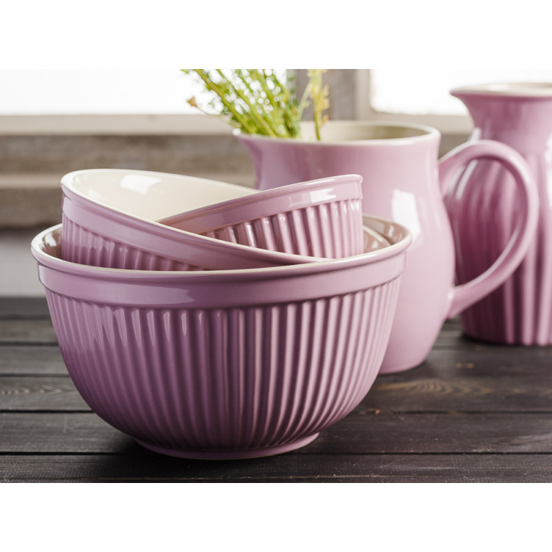 IB Laursen Mynte Shop Geschirr Lavendel Lila Lavender Schalensatz Schalen Set und Krug