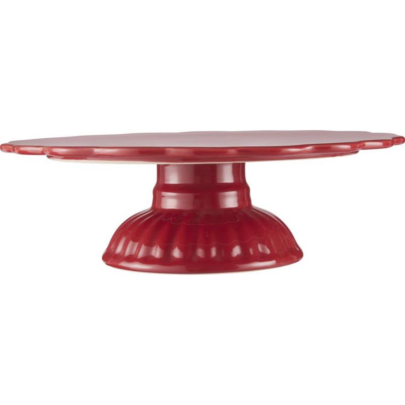 IB Laursen Mynte Tortenplatte rot Servierplatte aus Keramik Strawberry