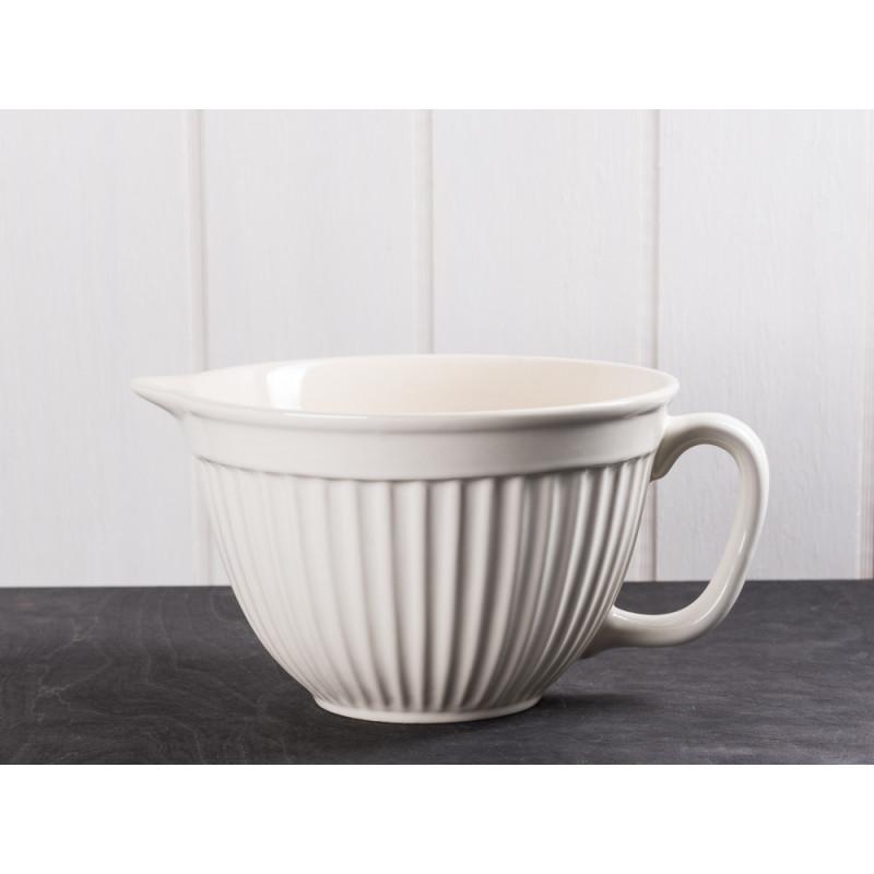 IB Laursen Rührschüssel creme weiß Mynte Keramik Kollektion Butter Cream