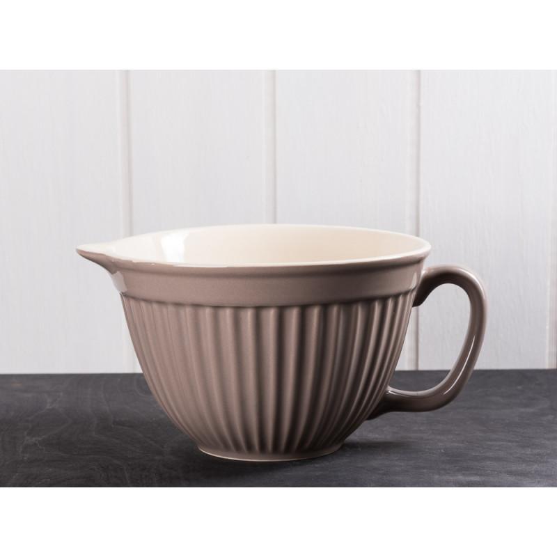 IB Laursen Rührschüssel hellbraun Mynte Keramik Kollektion Milky Brown