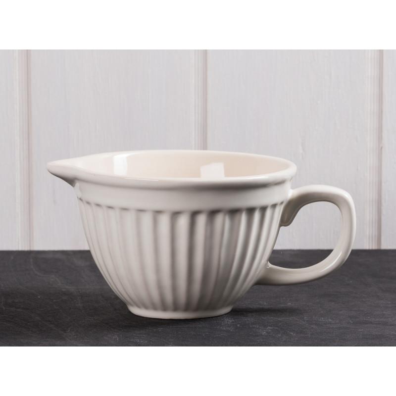 IB Laursen Rührschüssel Mini creme weiß Mynte Keramik Kollektion Butter Cream kleine Schüssel