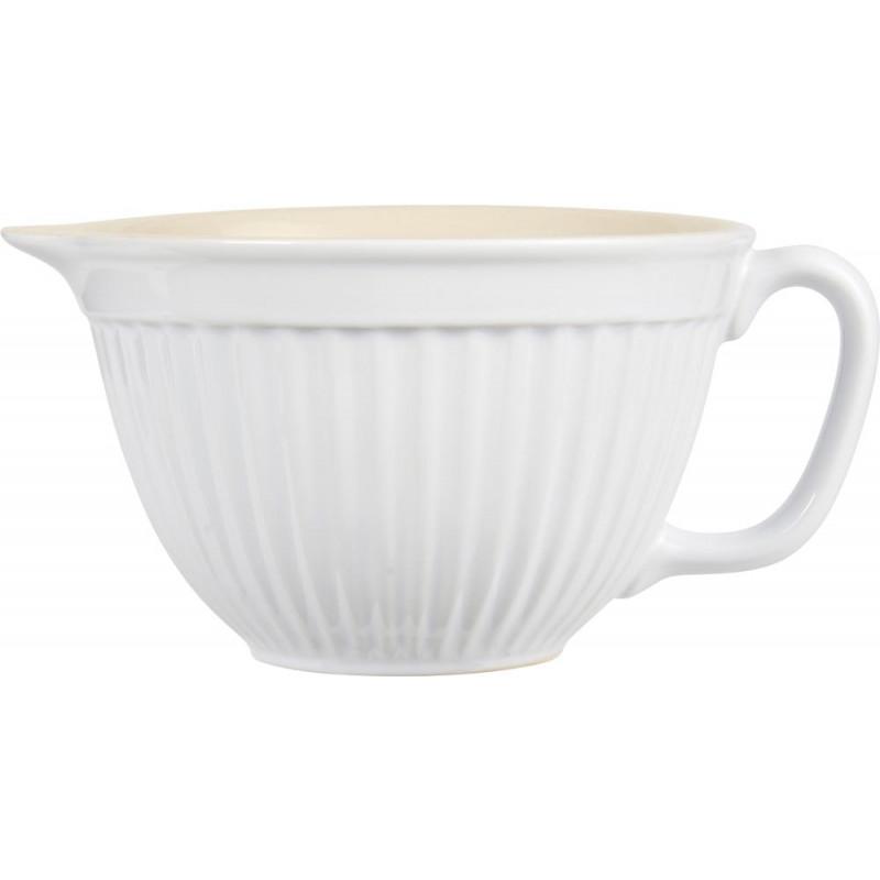 IB Laursen Rührschüssel weiß Mynte Geschirr Kollektion Pure White