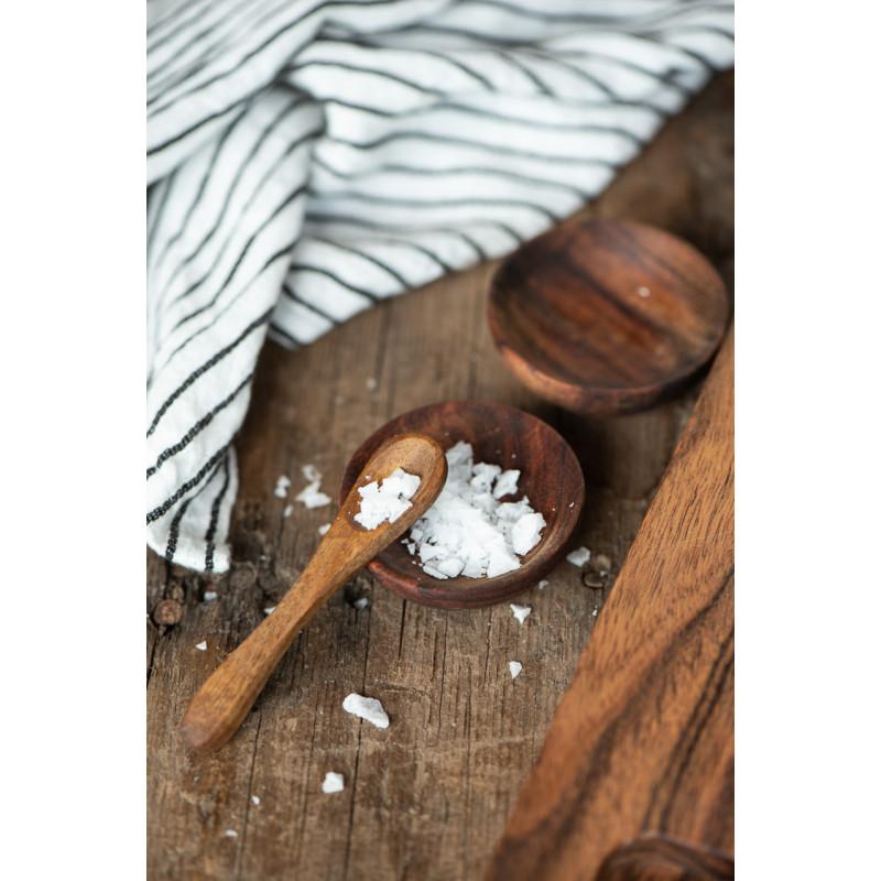 IB Laursen Salzlöffel aus Akazienholz Holzlöffel 85mm