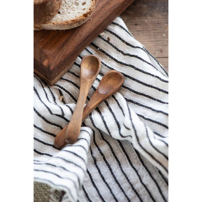 IB Laursen Salzlöffel aus Akazienholz Holzlöffel Länge 85 mm Detail