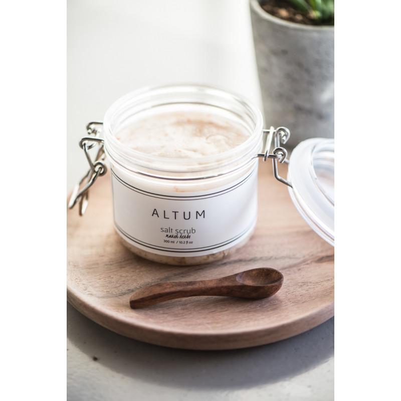 IB Laursen Salzlöffel aus Akazienholz Holzloefffel Badesalz Peeling Wellness
