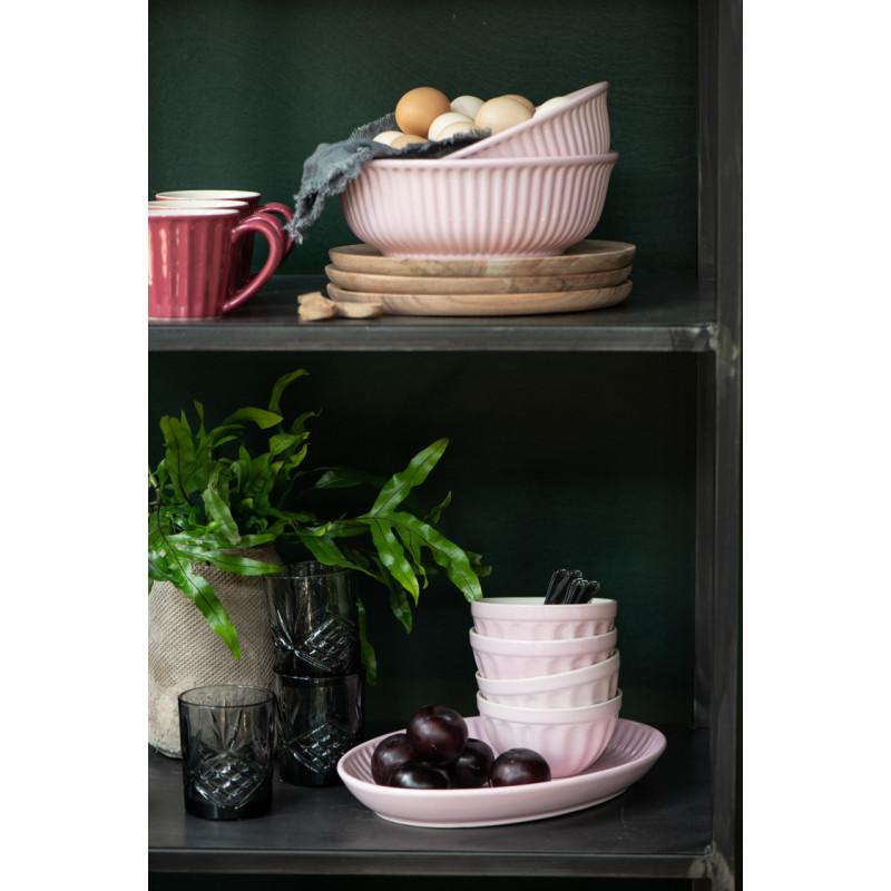 Ib Laursen Servierplatte Mynte pastell rosa Geschirr Keramik Becher Regal Home