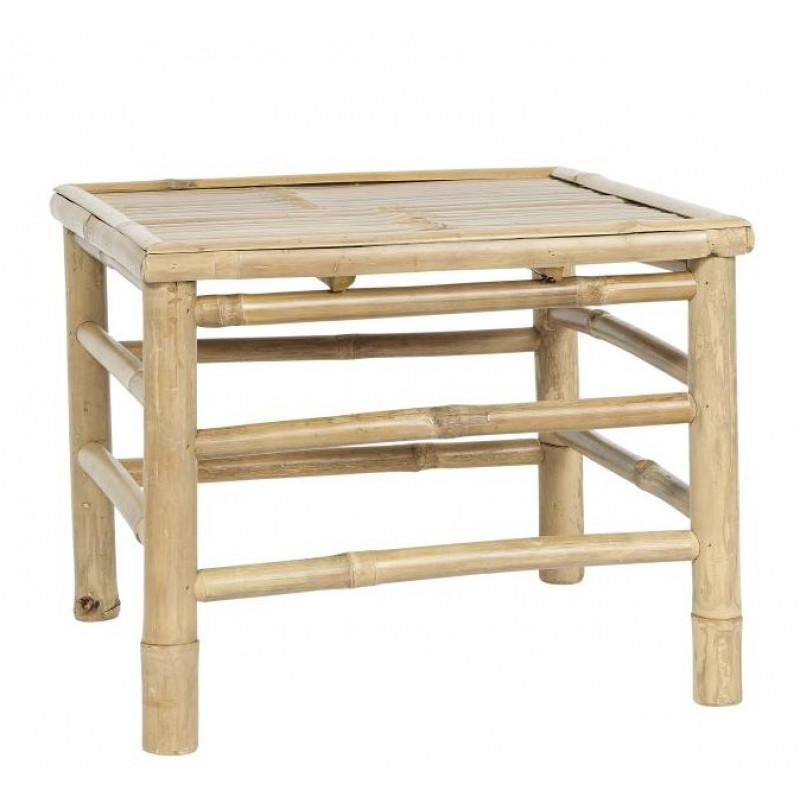 IB Laursen Tisch Bambus 47x47 cm Beistelltisch Klein Garten Möbel