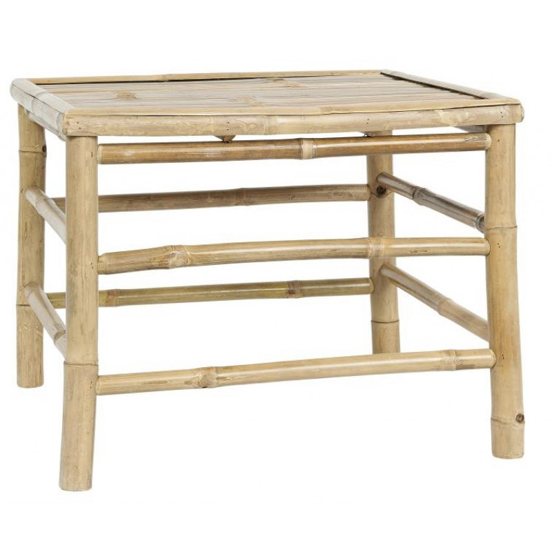 IB Laursen Tisch Bambus 54x54 cm Beistelltisch Gross Garten Möbel