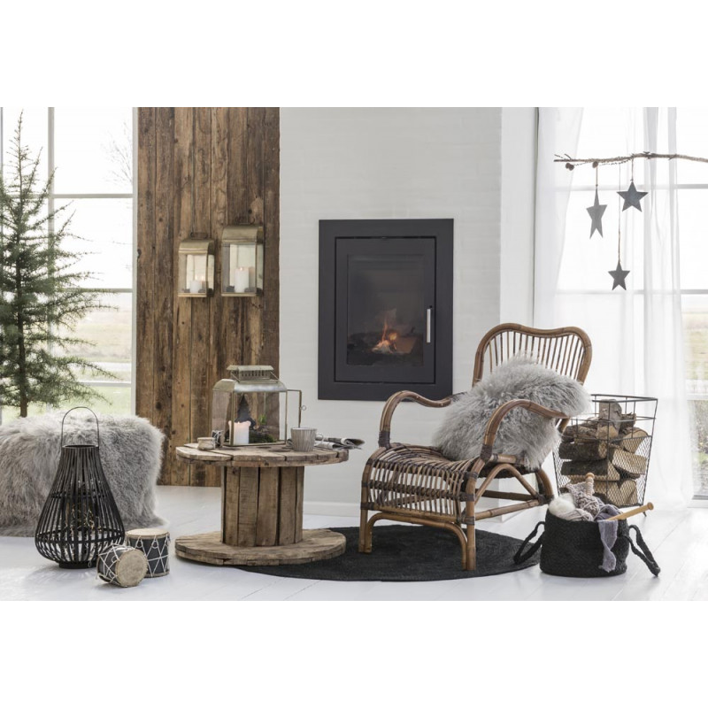 ib laursen tisch kabeltrommel unika aus holz. Black Bedroom Furniture Sets. Home Design Ideas